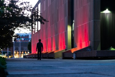 Confederation Centre of The Arts at Dusk