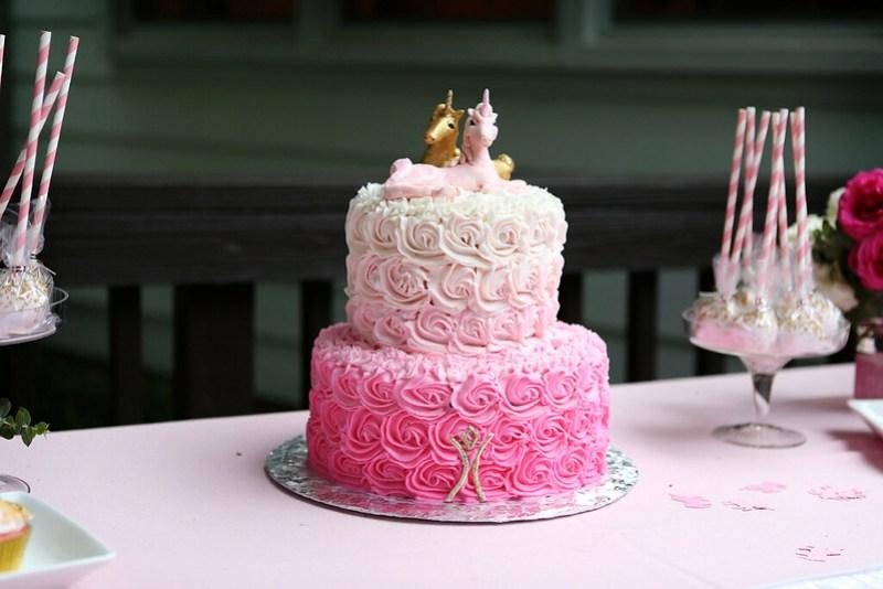 Unicorn Wedding Cake