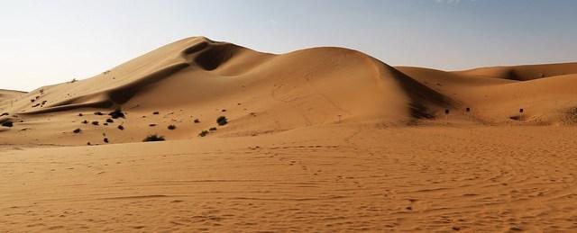 arabian nights village sand dune