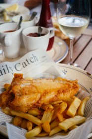 Arminiusmarkthalle, Berlin: Fish & chips