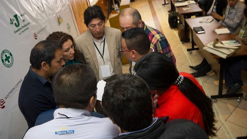 Dinámicas de grupo se realizaron durante toda la Jornada de Comités Paritarios