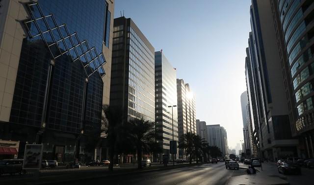 hamdan street afternoon
