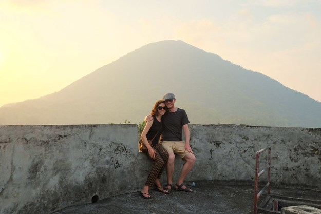 Us at Benteng Belgica, Banda Islands