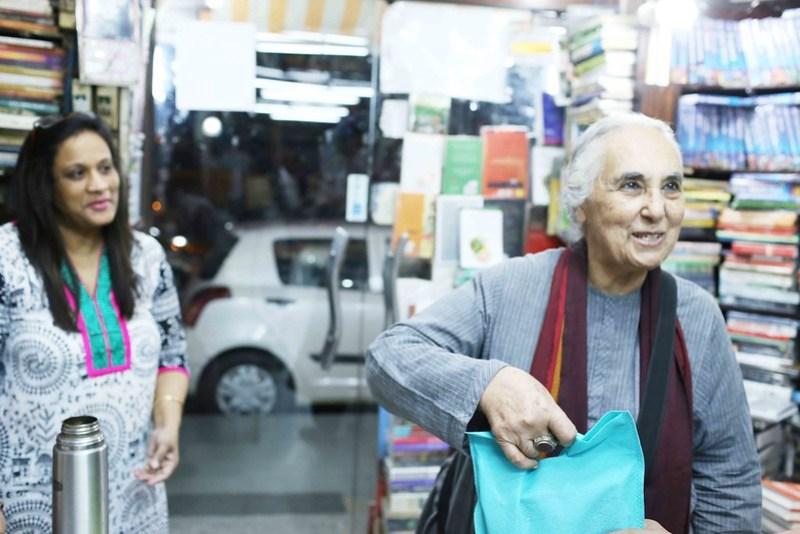 City Moment - Historian Romila Thapar's Disappearance, Khan Market