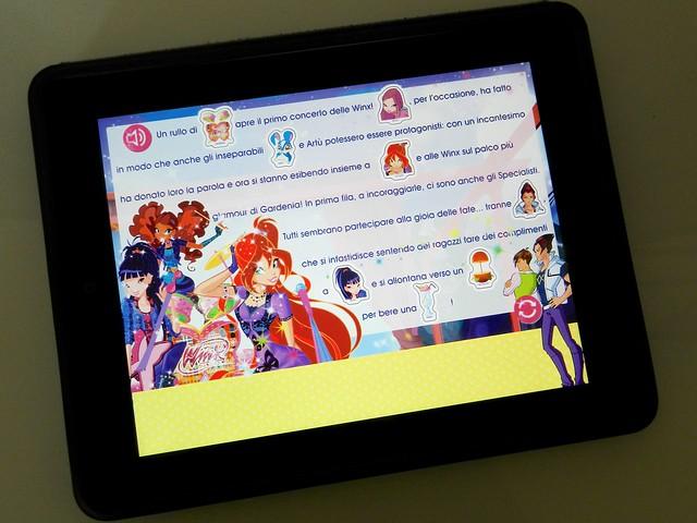 libri interattivi Read&Play delle Winx