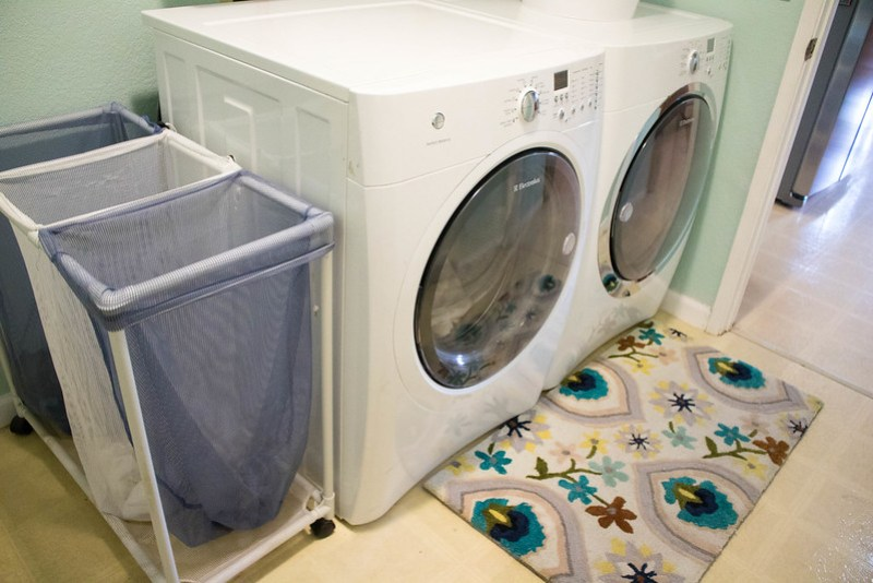 Washer, Dryer, and new rug