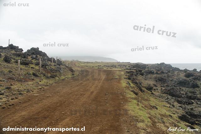 Camino a Hanga Roa (Isla de Pascua)