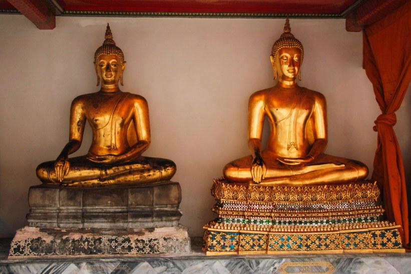 Buddhaer ved Wat Pho