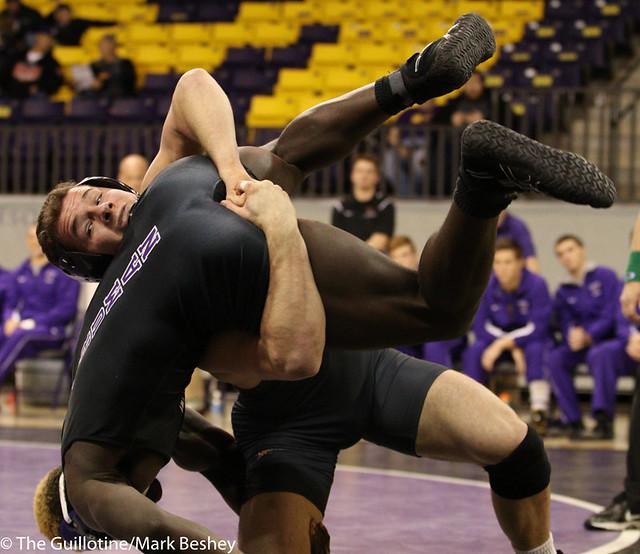 184 Corey Abernathy (Minnesota State) fall Jules Joseph (Truman State) 2:45