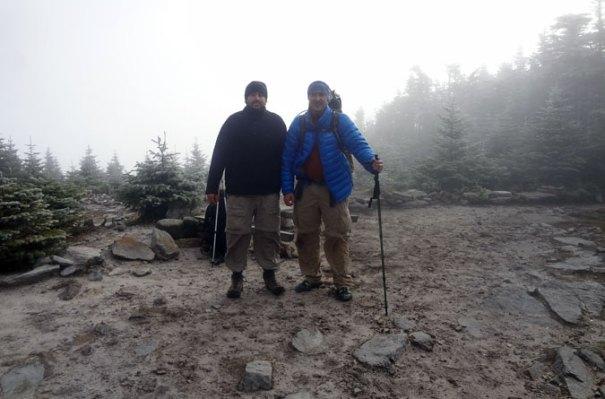 Frosty Old Speck Summit