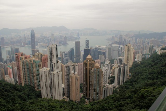 Victoria Harbour and Hong Kong
