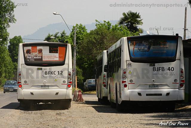Transantiago - Metbus - Caio Mondego H / Mercedes Benz (BFKC12) (BJFB40)