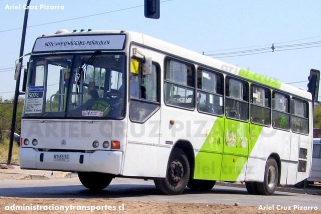 Transantiago - Buses Metropolitana / Metbus - Marcopolo Torino GV / Mercedes Benz (RT8670)