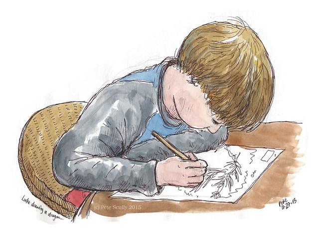 how to draw like caliborn