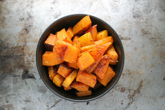 moroccan spiced roasted butternut squash [ inthiskitchen.com ]