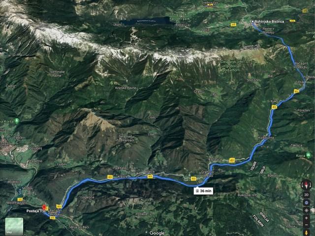 Car Train Route