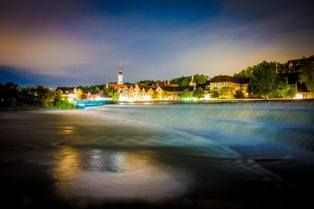 Landsberg at Night