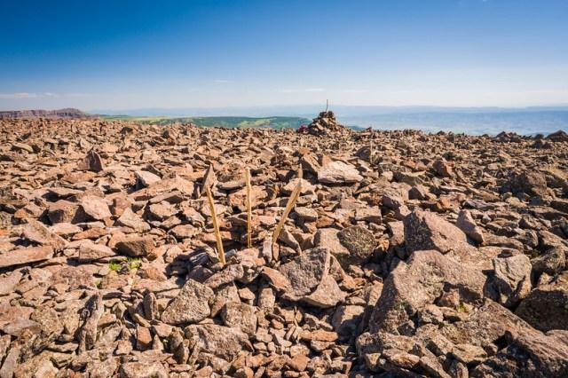 Flat Top Mountain Summit