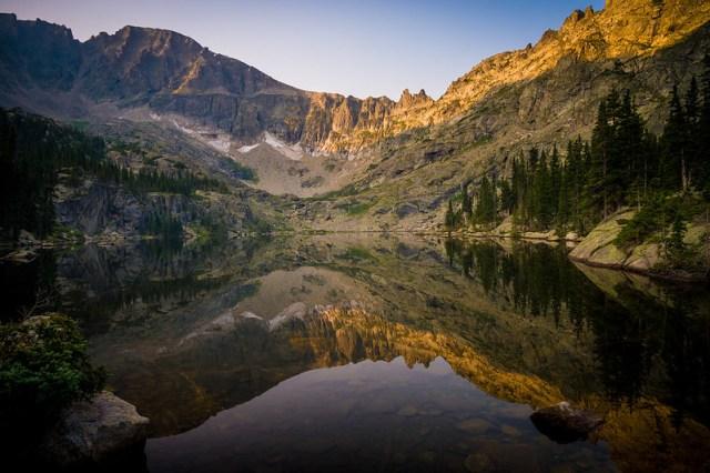 Perfect Mirror on Pawnee Lake