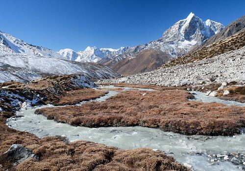 Imja Khola river.