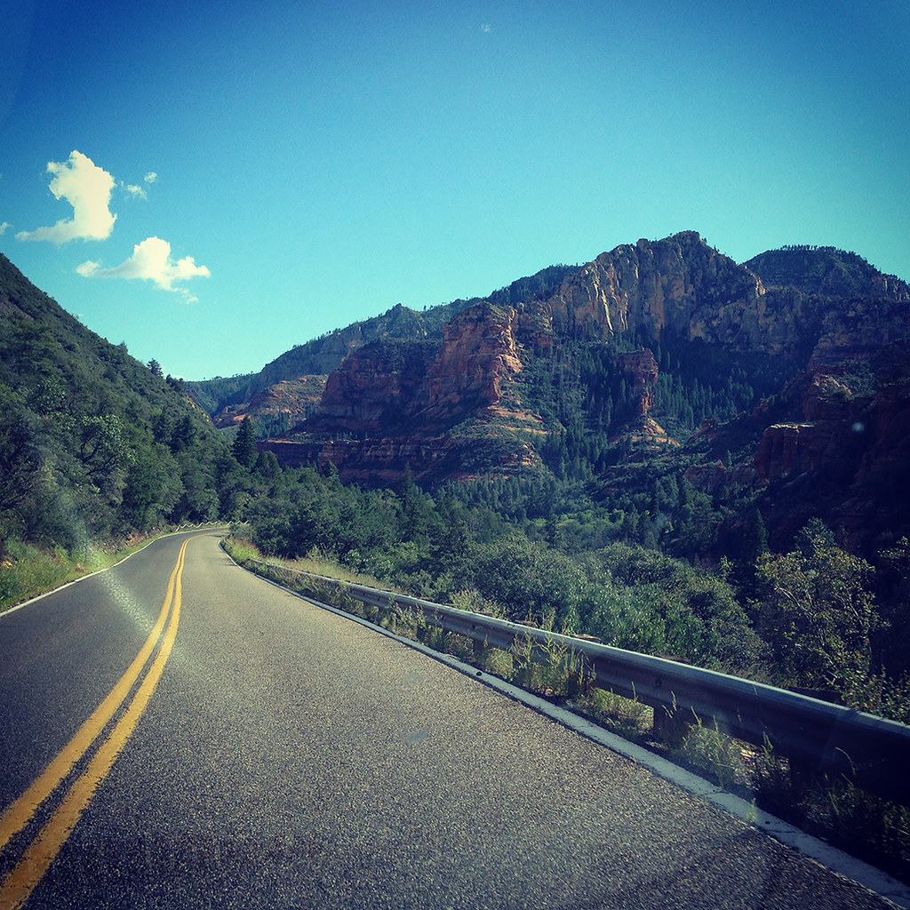On the Road to Sedona (via Instagram)