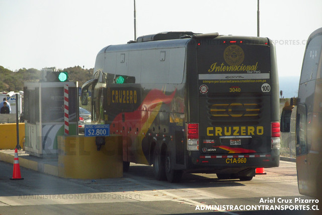 Cruz del Sur (Perú) - Pichidangui - Comil Campione 4.05 HD / Scania (C1A960)