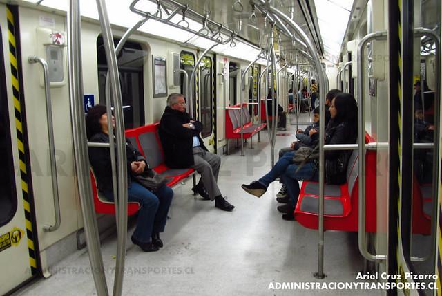 Metro de Santiago - CAF NS2007 N2112 - Las Rejas / Pajaritos (Línea 1)