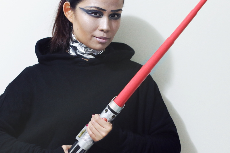 Star Wars Makeup Look, Covergirl Chrome Captain, beauty products
