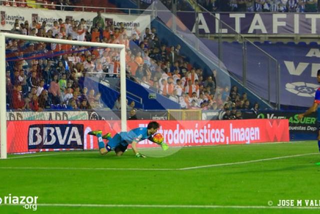 Temporada 15/16. Jornada 11ª. Levante U.D. 1 - R.C. Deportivo 1