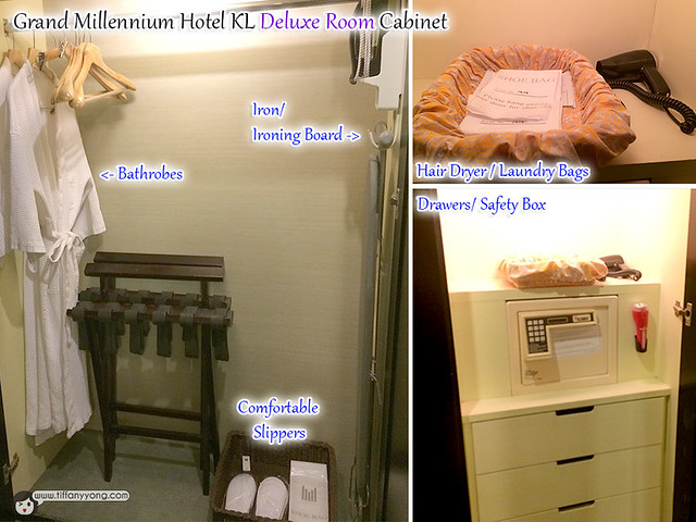 Grand Millennium KL Deluxe Room Cabinet