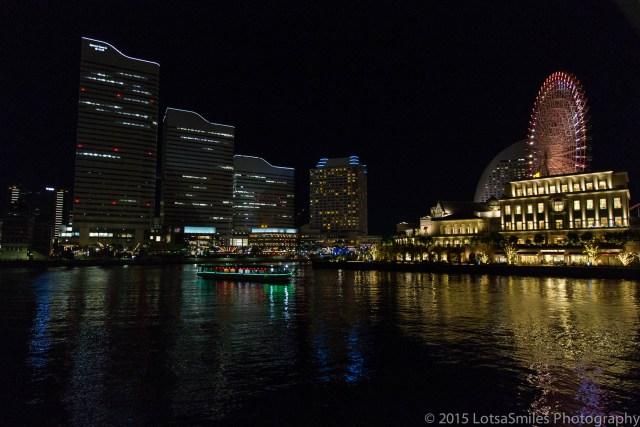 Nighttime Yokohama