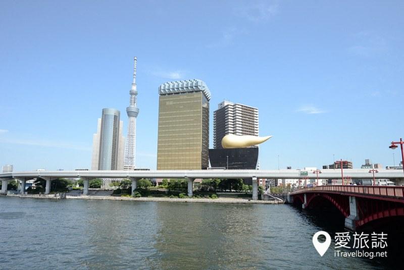 《东京游船体验》东京水上观光汽船:游览隅田川水岸城市风光