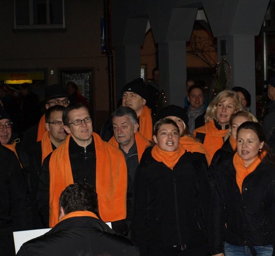 2014-11-22 Adventsmaerktle Bluete und mehr, Freiberg, 22. November 2014