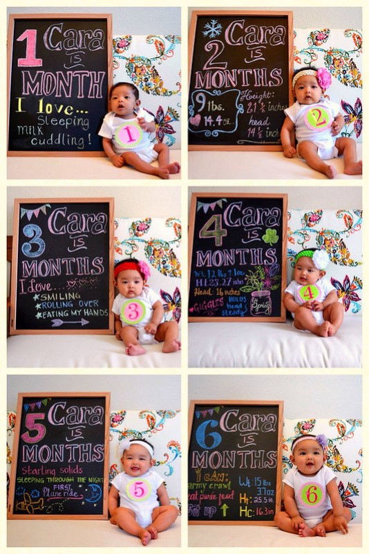 Monthly Baby Picture Ideas To Document Your Babys Growth A Great Collection Of For