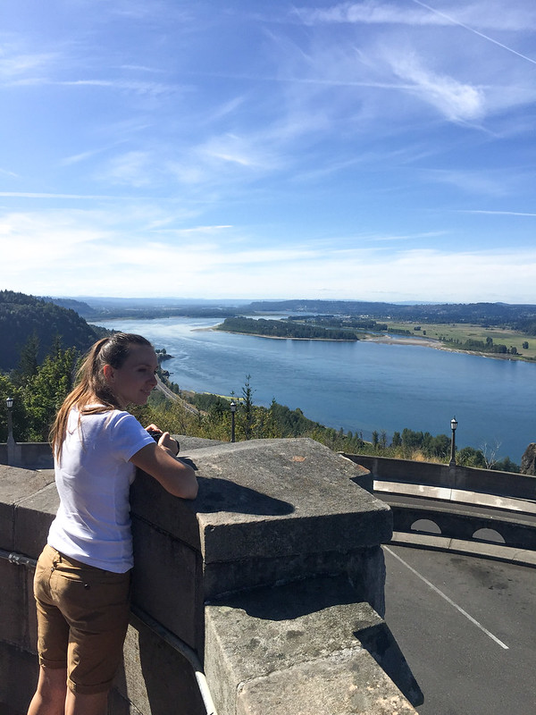 Columbia River Observation point