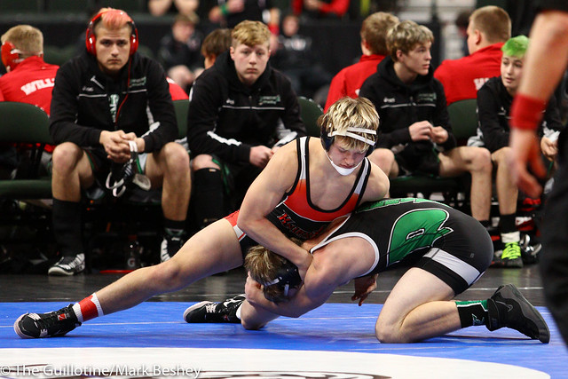 152 - Keaton Long (West Central Area-Ashby-Brandon-Evansville) over Mckinely Bush (Pipestone Area) Maj 11-1