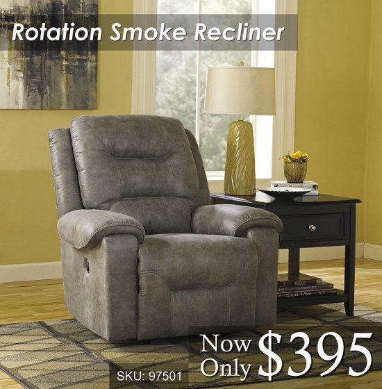 Rotation Smoke Recliner
