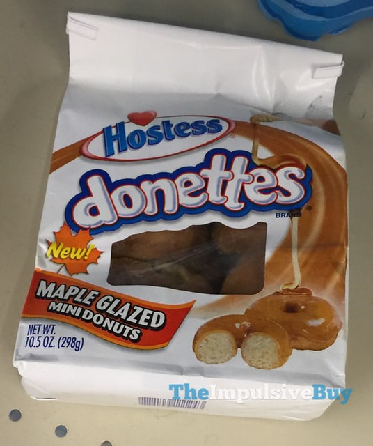 Hostess Donettes Maple Glazed Mini Donuts