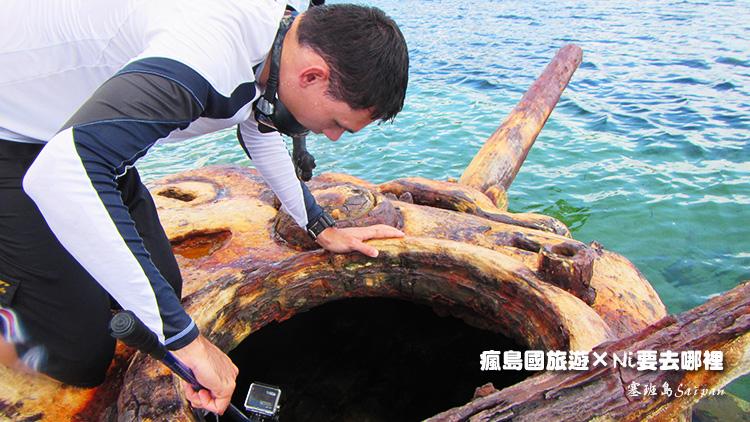 75塞班島坦克車潛水