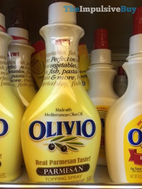 Olivio Parmesan Topping Spray