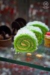 Sydney Food Blog Review of Cafe Mix, Shangri La: Pandan Roulette