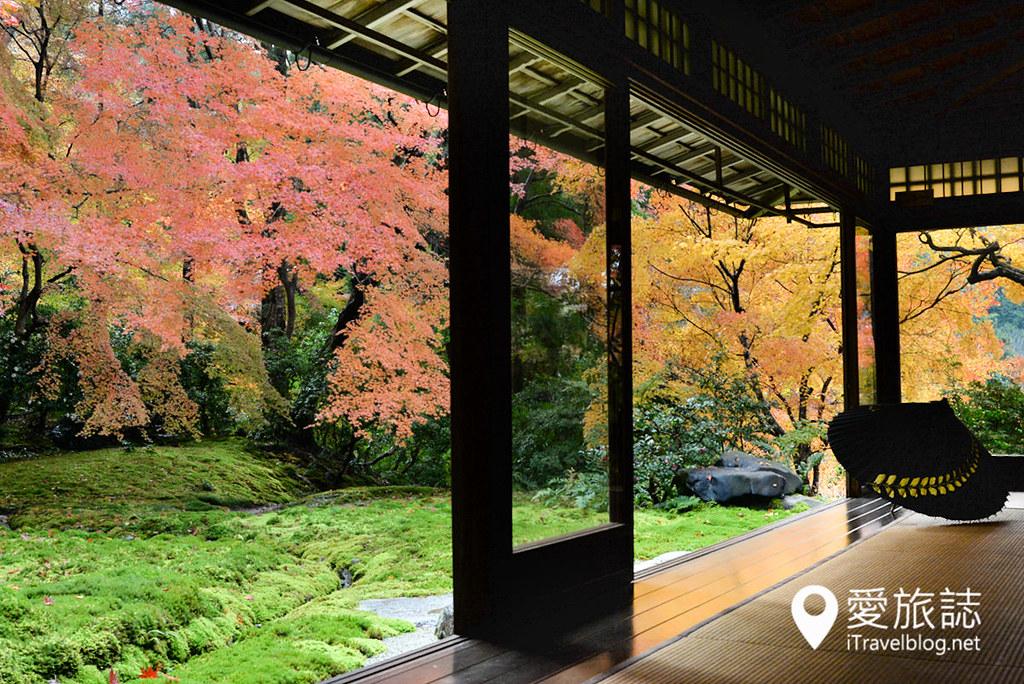京都赏枫景点 琉璃光院 33