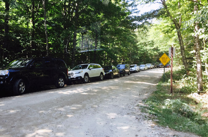Osceola Trail Parking Overflow