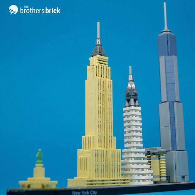 lego architecture new york. LEGO Architecture 21028 New York City Review Lego I