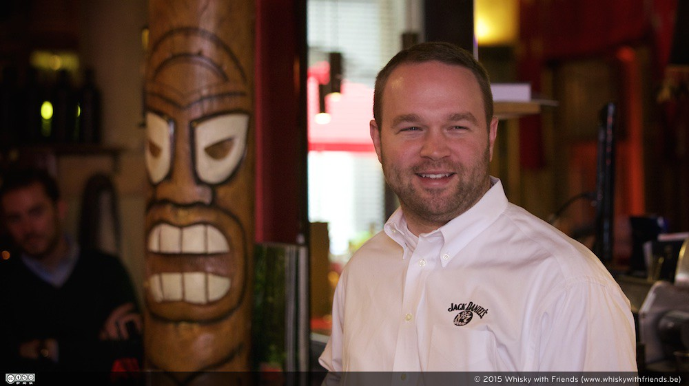 De goedlachse Chris Fletcher, Assistant Master Distiller bij Jack Daniel's