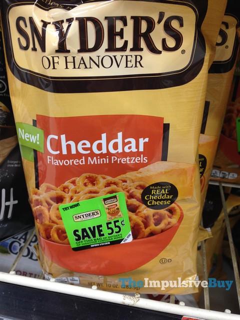 Snyder's of Hanover Cheddar Mini Pretzels