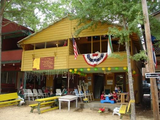 Cabin at Neshoba County Fair