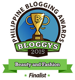 Bloggys 2015 Beauty-and-Fashion Finalist 2015