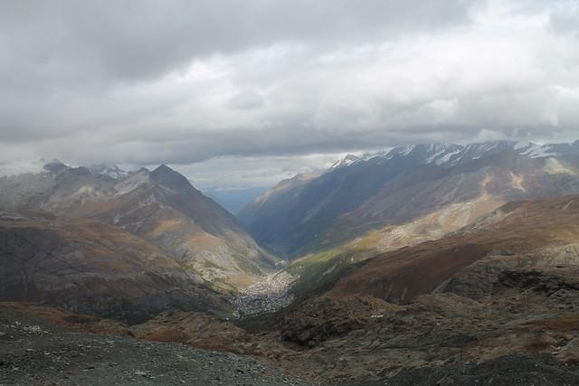 zermatt from trockener steg