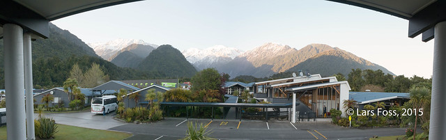 Morning in Franz Josef